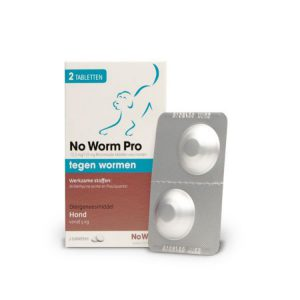 No worm Pro middel/grote hond