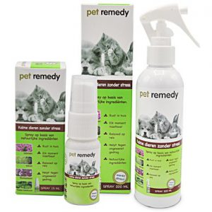 Pet remedy spray